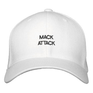MACK ATTACK - Customizable Cap by eZaZZleMan.com Embroidered Baseball Caps