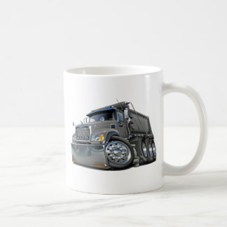 Mack Dump Truck Grey Basic White Mug
