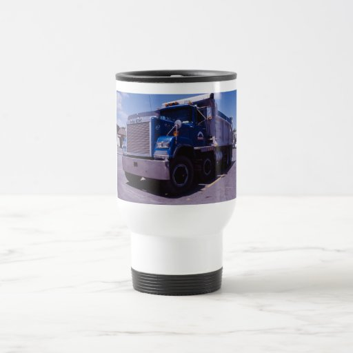 Mack Dump Truck. Coffee Mugs