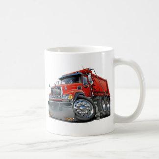 Mack Dump Truck Red Basic White Mug
