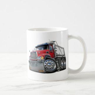 Mack Dump Truck Red-White Basic White Mug