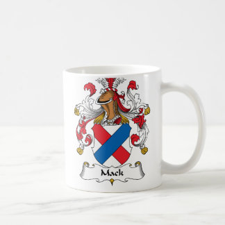 Mack Family Crest Coffee Mug