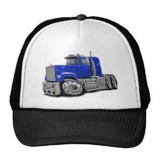 Mack Superliner Blue Truck Trucker Hat