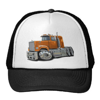 Mack Superliner Orange Truck Mesh Hat