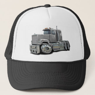 Mack Superliner Silver Truck Trucker Hat