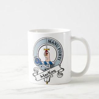 MacKay Clan Badge Mugs