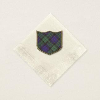Mackay clan Plaid Scottish tartan Disposable Serviette