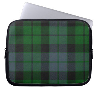 MacKay Green Tartan Plaid Laptop Cover