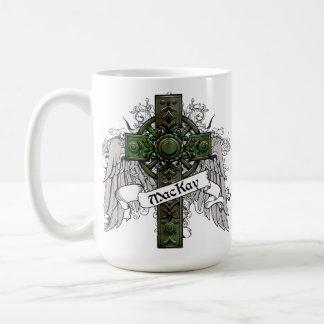 MacKay Tartan Cross Coffee Mug