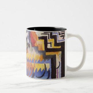 Macke Modern Art Mug 3
