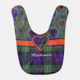 Mackenzie clan Plaid Scottish tartan Bib