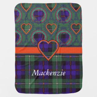 Mackenzie clan Plaid Scottish tartan Pramblankets