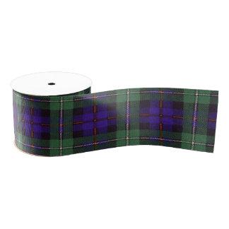 Mackenzie clan Plaid Scottish tartan Grosgrain Ribbon