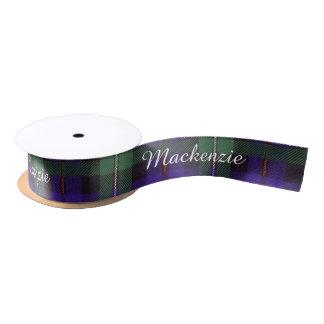 Mackenzie clan Plaid Scottish tartan Satin Ribbon