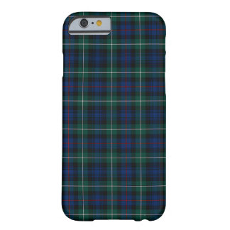 Mackenzie Clan Royal Blue and Forest Green Tartan Barely There iPhone 6 Case
