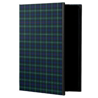 Mackenzie Family Dark Blue and Green Clan Tartan Powis iPad Air 2 Case