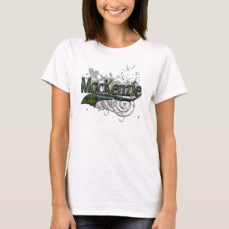 MacKenzie Tartan Grunge T-Shirt