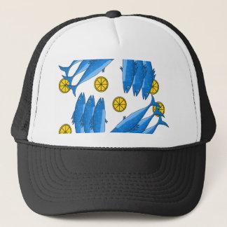 Mackerel meal 2 trucker hat