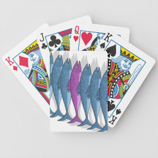 Mackerel military poker deck