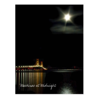 Mackinac at Midnight Postcard