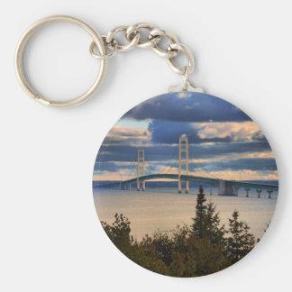 Mackinac Bridge 1060 Key Ring
