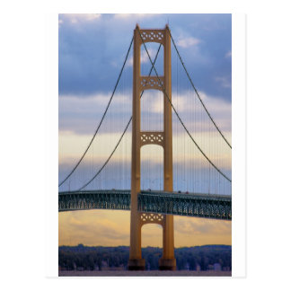 Mackinac Bridge 1083 Postcard