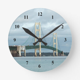 Mackinac Bridge Clock