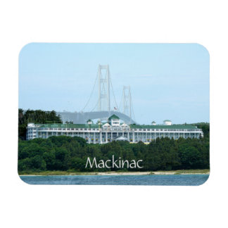 Mackinac Bridge Grand Hotel Magnet