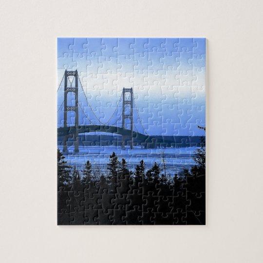 Mackinac Bridge Jigsaw Puzzle