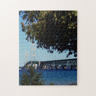Mackinac Bridge Photo Jigsaw Puzzle