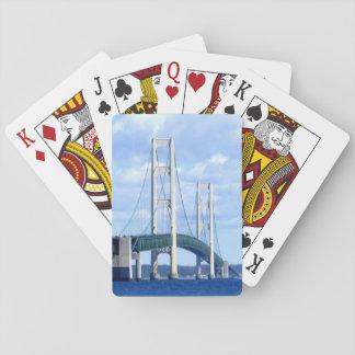"""""""Mackinac Bridge Playing Cards"""" Poker Deck"""