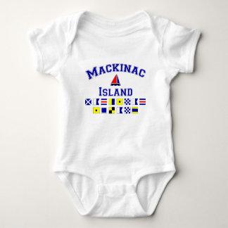 Mackinac Island Baby Bodysuit