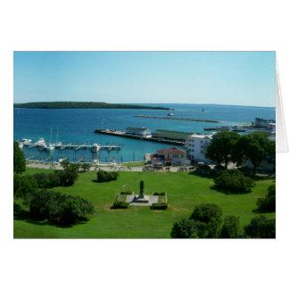 Mackinac Island Blank Card
