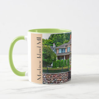 Mackinac Island Cottage Mug