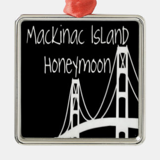 Mackinac Island Honeymoon Metal Ornament