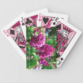 Mackinac Island Lilac Playing Cards