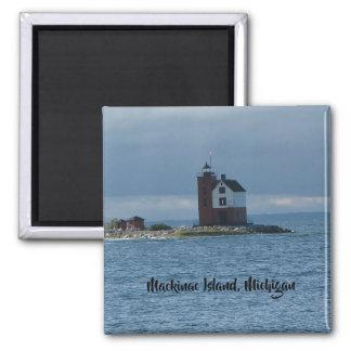 Mackinac Island, Michigan lighthouse magnet