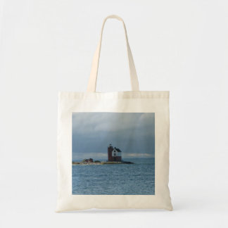 Mackinac Island, Michigan lighthouse tote bag