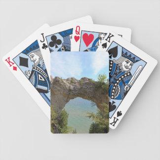 Mackinac Island's Arch Rock Playing Cards