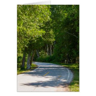 Mackinac Lake Shore Drive Card