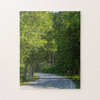 Mackinac Lake Shore Drive Jigsaw Puzzle