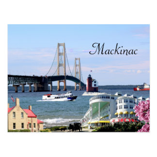 Mackinac Postcard