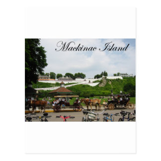 Mackinac Postcard