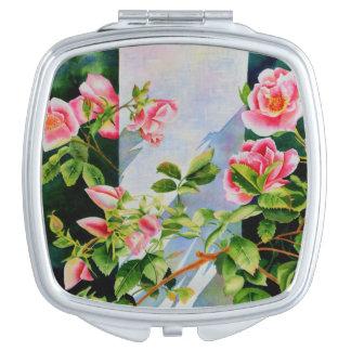 Mackinac Rose Makeup Mirror