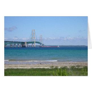 Mackinaw Bridge Card