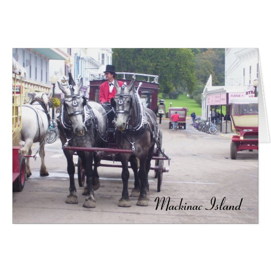 Mackinaw Island Series Card