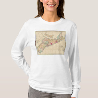 Mackinlay's map of the Province of Nova Scotia 3 T-Shirt