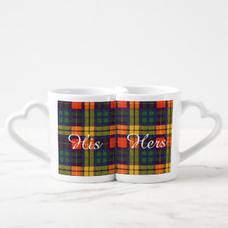 MacKinley clan Plaid Scottish kilt tartan Lovers Mug