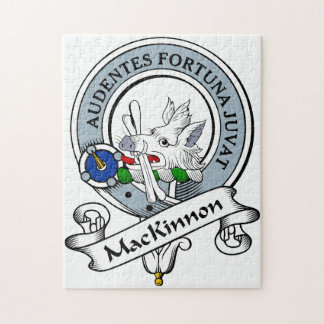 MacKinnon Clan Badge Jigsaw Puzzle