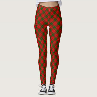 MacKinnon tartan plaid Leggings